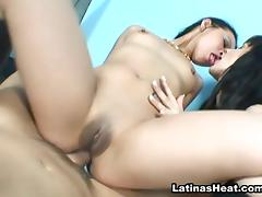 Jessica Blue in Smokin Hot Latinas 4 Scene 3