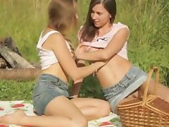 Village Girls In Love