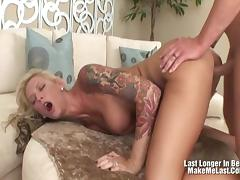 Brooke Banner craves hardcore anal sex