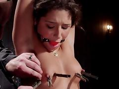 dirty slut gets bonded and punished