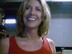 MILF Gets Her Tits Out On Cam