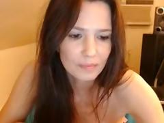 Milf masturbating on cam, wet sound 10 orgasm