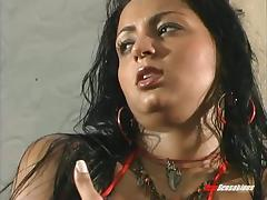 Brazilian babe loves having her narrow asshole fucked hardcore
