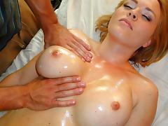 Krissy Lynn in Busty Blonde Bitch Massage - PornPros Video