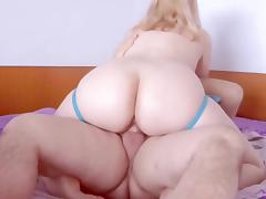 Hot cowgirl blond wife