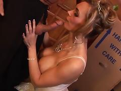 Tanya Tate celebrate having the mammoth cock traverse her walls