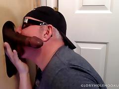 Hung Married Black Guy Gloryhole Fucks My Ass