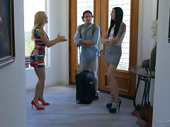 Fetching babe Gina Valentina can handle the dicking in any position