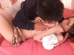 Vibrator lover Asian moaning lovely in indoor compilations