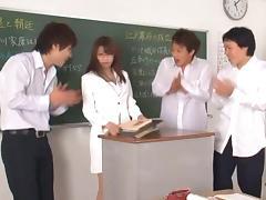 Shouko Akiyama wants to get naughty with pussy craving hunks