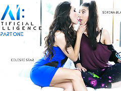 Celeste Star & Serena Blair in AI: Artificial Intelligence: Part One - GirlsWay