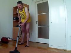 Julio fucking vacuum cleaner