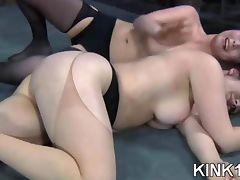 Fresh submissive bound