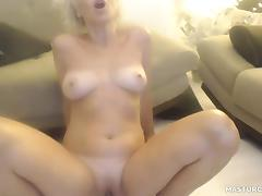 Adorable Milf Masturbates At Home