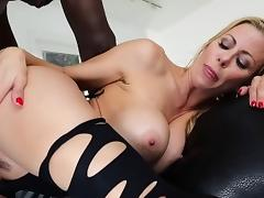 MILF Alexis auditions and rides a bbc