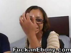 Juicy Ebony Pussy Penetrated Till Cumming