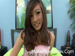 Hot Asian Ariel Rose Got A Facial Cum