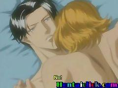 Blonde anime gay hot asshole fucked