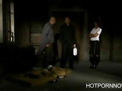 Simony Diamond gets banged in the ass by a homeless man