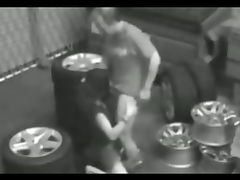 Garage Security Cam Hidden cam Fuck