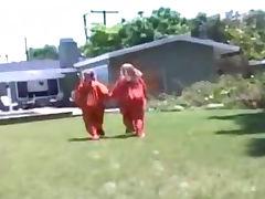Sunshine and Lexia Bubblicious White Girls Prison Break