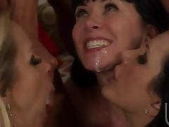 Wild Group Sex Orgy In Bachelorette Party