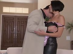 Horny Busty Brunette Dylan Ryder Getting a Hardcore Fuck