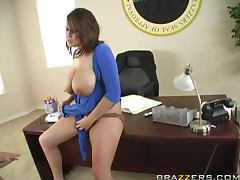Busty Brandy Talore Taking a Big Cock for the Nation
