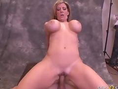 Sara Jay Has To Titty Fuck Big Dicks With Her Big Tits For Money