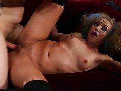 Alyssa Branch in naughty cock riding video
