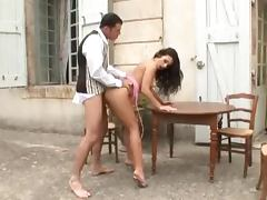 Hot Aletta Ocean gets pounded by a manservant