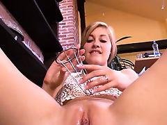 Gap her gyno pussy really hard