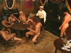How The West Was Hung Orgy Scene