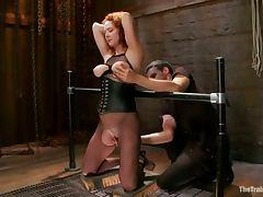 Audrey Hollander Gets Her Pussy Destroyed In BDSM Vid