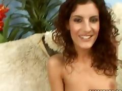Leanna Sweet gives a blowjob after getting her snatch licked