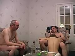 aged fella and guy have a fun chap's girlfriend