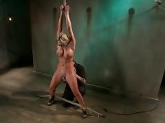 Phoenix Marie gets her pussy fucked deep and hard with a dildo