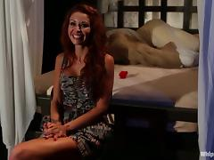 Bobbi Starr Gets Tied Up and Fucked by Monique Alexander in Femdom Vid