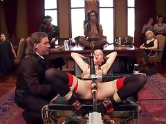 Punishment videos. If a chick behaves in an indecent manner then she deserves a hard punishment