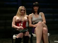 Bobbi Starr is under the BDSM passion of Aiden Starr