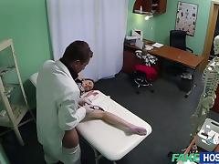Pretty patient gets fucked by the doctor