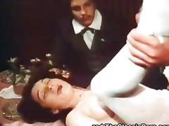 Vintage Blowjobs videos. Luscious vintage whores with huge tits down on her knees giving hottest cock sucking