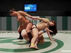 Wicked strong babes are going to rip each other apart