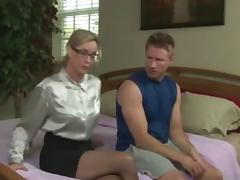 Relieving Sons Sexual Frustrations !