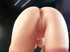 Gorgeous animated babe gets screwed