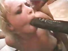 Classic - Three Black Guys Taking A Blonde Slut