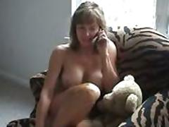 Cougar Get a Unexpected Visit form Her Cub