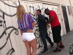 Lexi Kartel gets fucked by a black stud in amazing cuckold scene