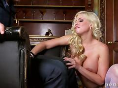 Britney Amber is fucked up her tight asshole a horny guy