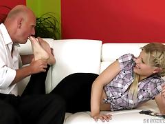 Goddess Kitty Rich Goes Hardcore With A Nasty Old Man